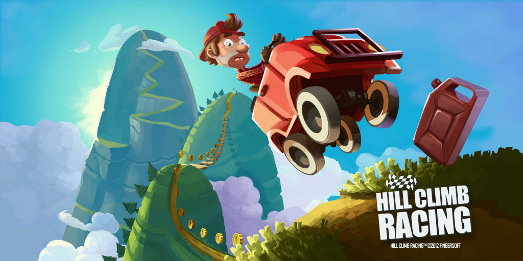 Hill Climb Racing Android Game - Top 10 Android Racing Games in 2017