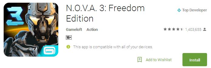 N.O.V.A. 3: Freedom Edition