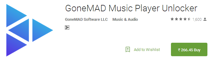 GoneMAD Music Player Unlocker