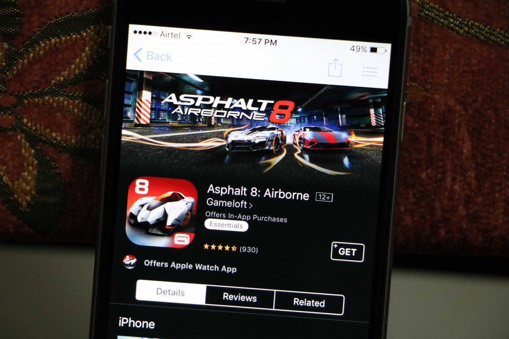 Asphalt 8 on iPhone - Best iOS Racing Games