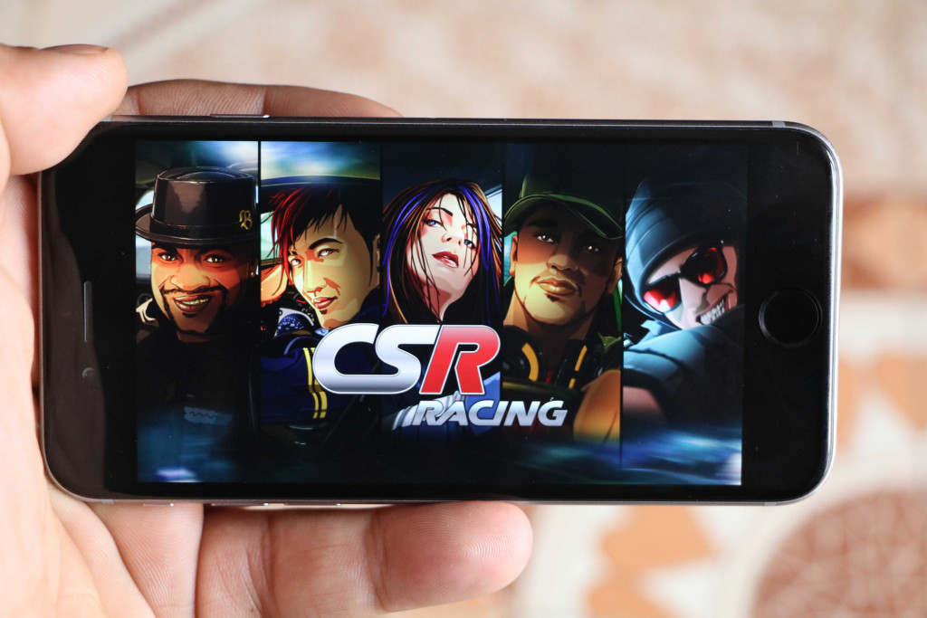CSR Racing on iphone - Best iOS Racing Games