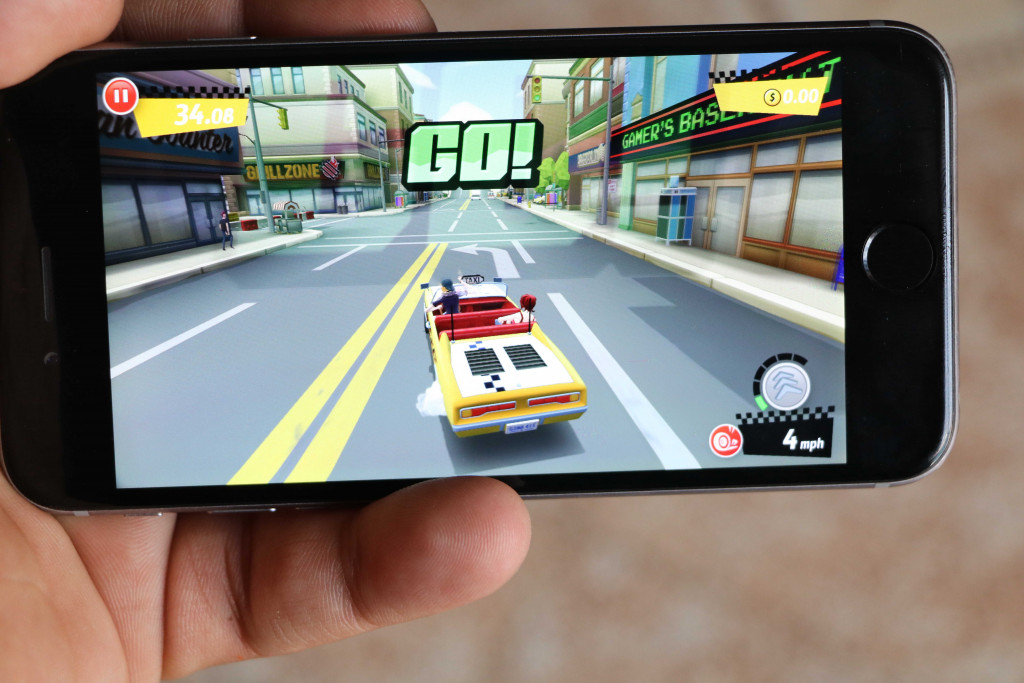 Crazy Taxi City Rush on iPhone - Best iOS Racing Games