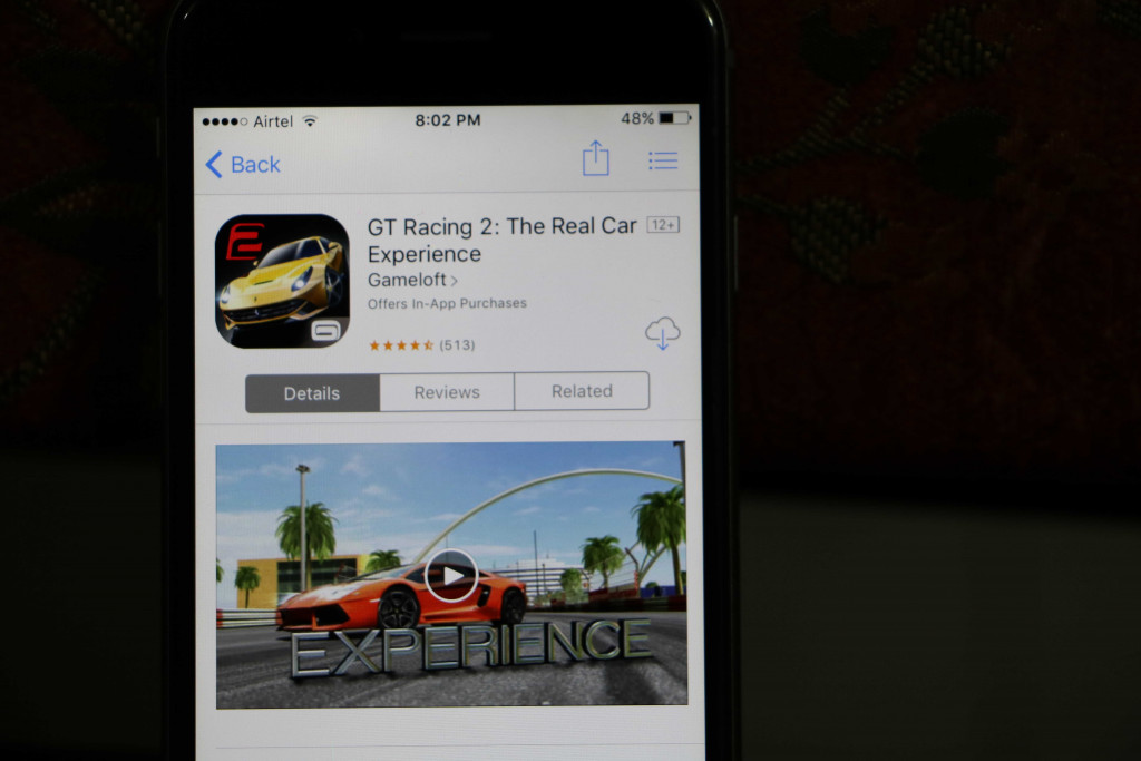 GT Racing 2 iphone - Best iOS Racing Games