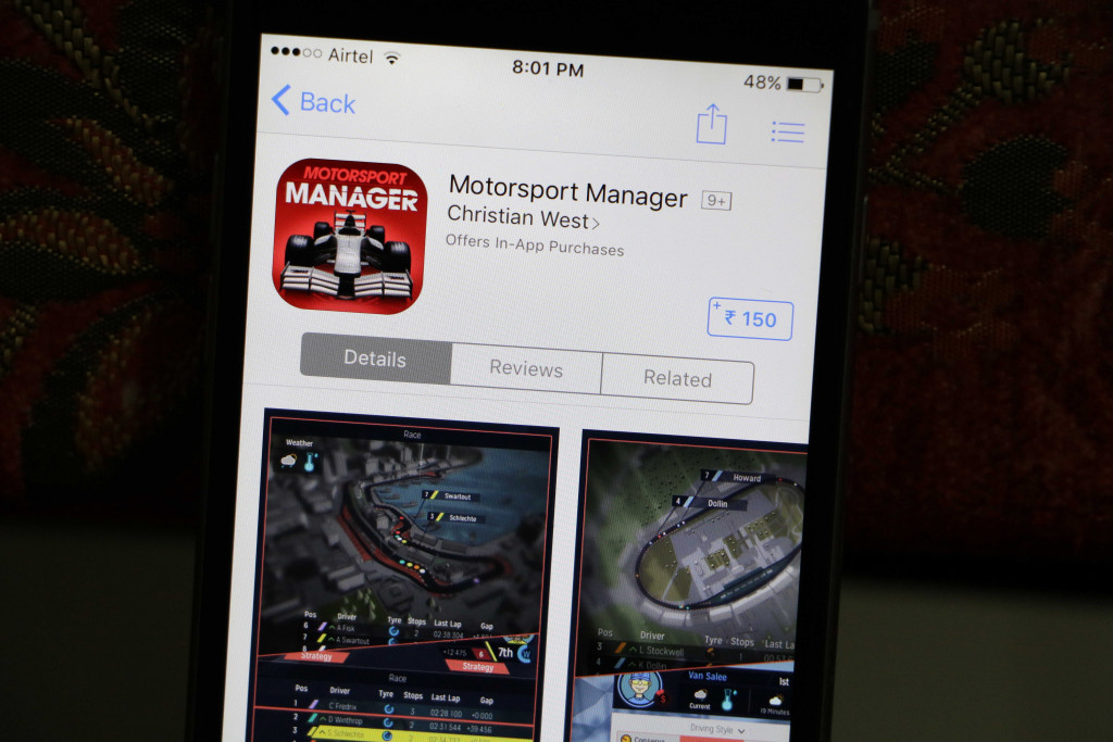 Motorsport Manager - Best iOS Racing Games