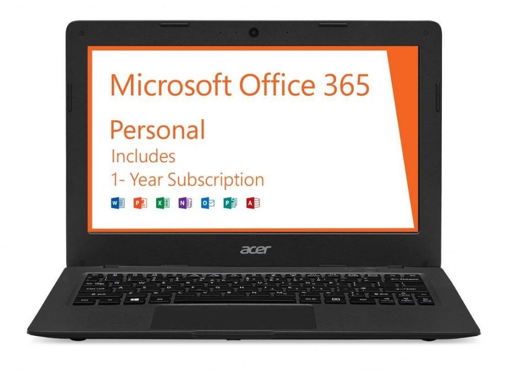 Acer Aspire One Cloudbook -best Budget laptops under 200 dollars