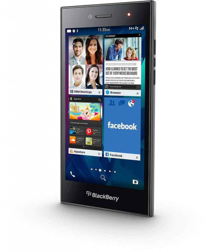 BlackBerry Leap - 9 Best Smartphones Below 20000 Rupees (2018)