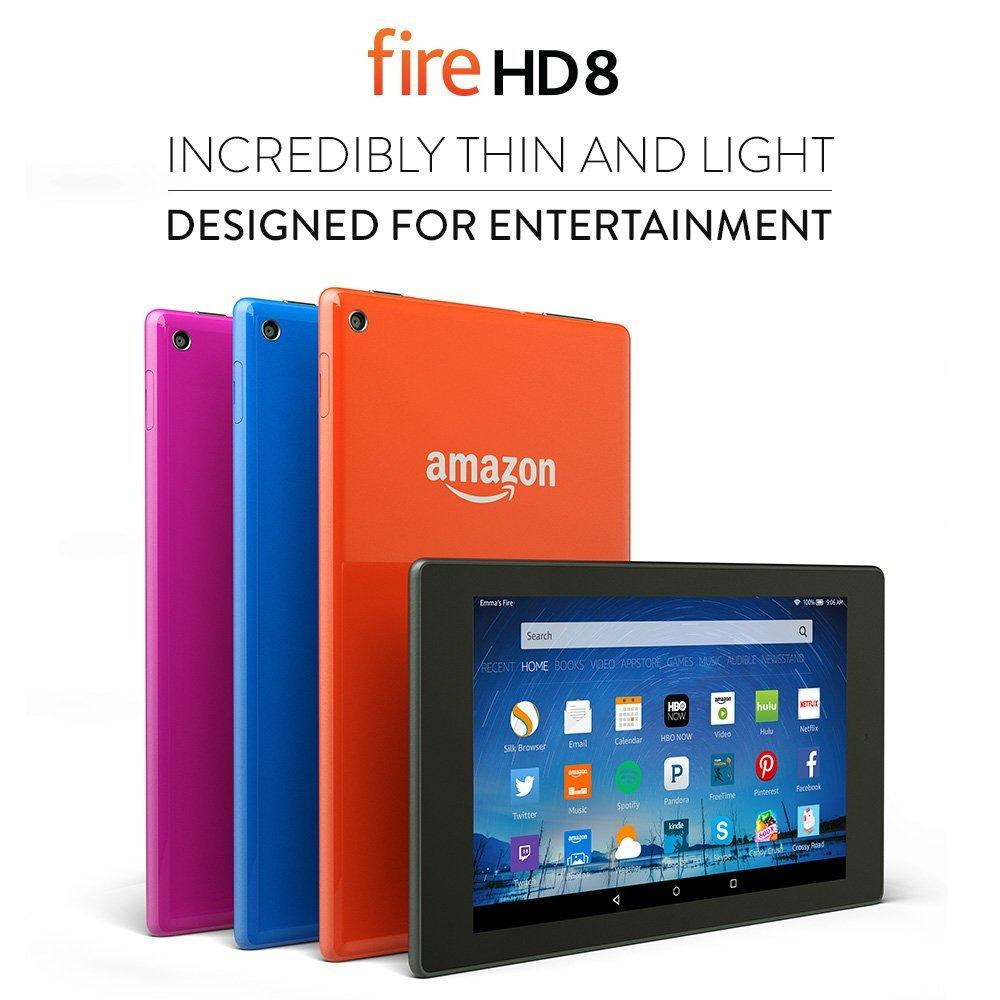 Fire HD 8; 8 inch - Best Tablets under 200 Dollars