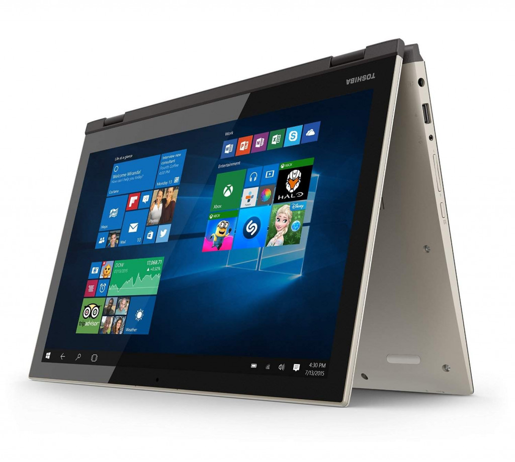 Toshiba Satellite Fusion 15 L55W-C5259 - Gaming laptops for avid gamers