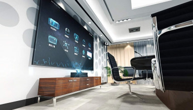 led on wall - samsung logo -Top 10 best LED TV Brands