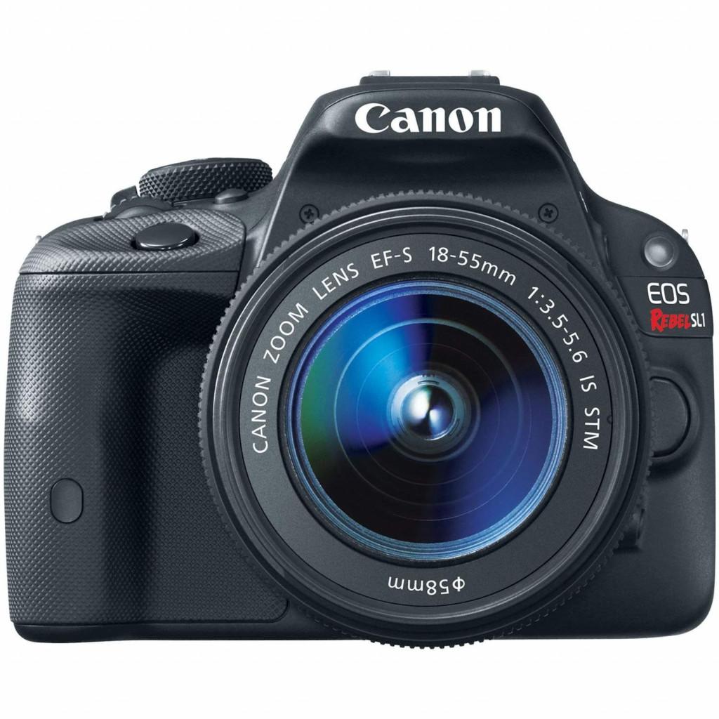 Canon EOS Rebel SL1 DSLR with 18-55mm STM Lens