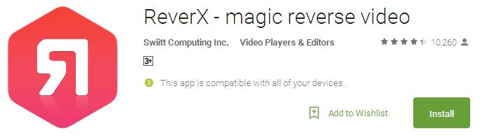 ReverX - magic reverse video