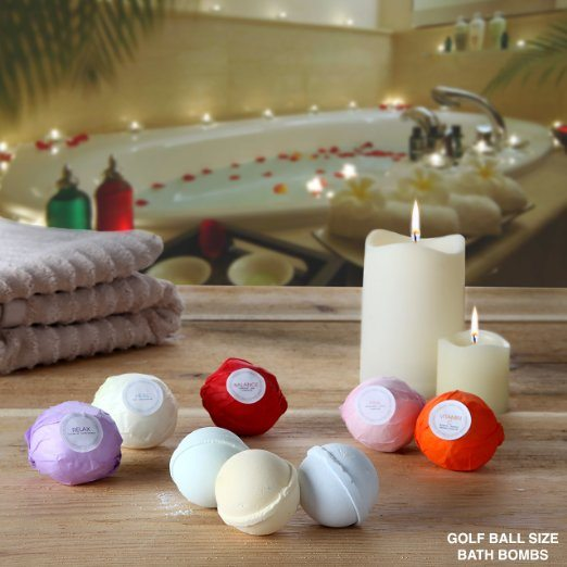 8 Bath Bombs Gift Set