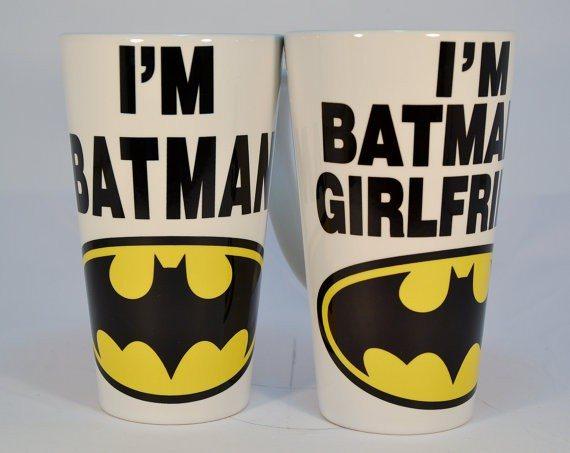Batman - Couple's Gift Mugs