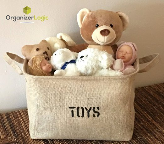Eco-Friendly Toy Storage Basket