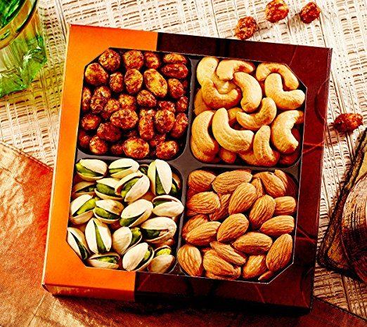 Gourmet Food Nuts Gift Basket