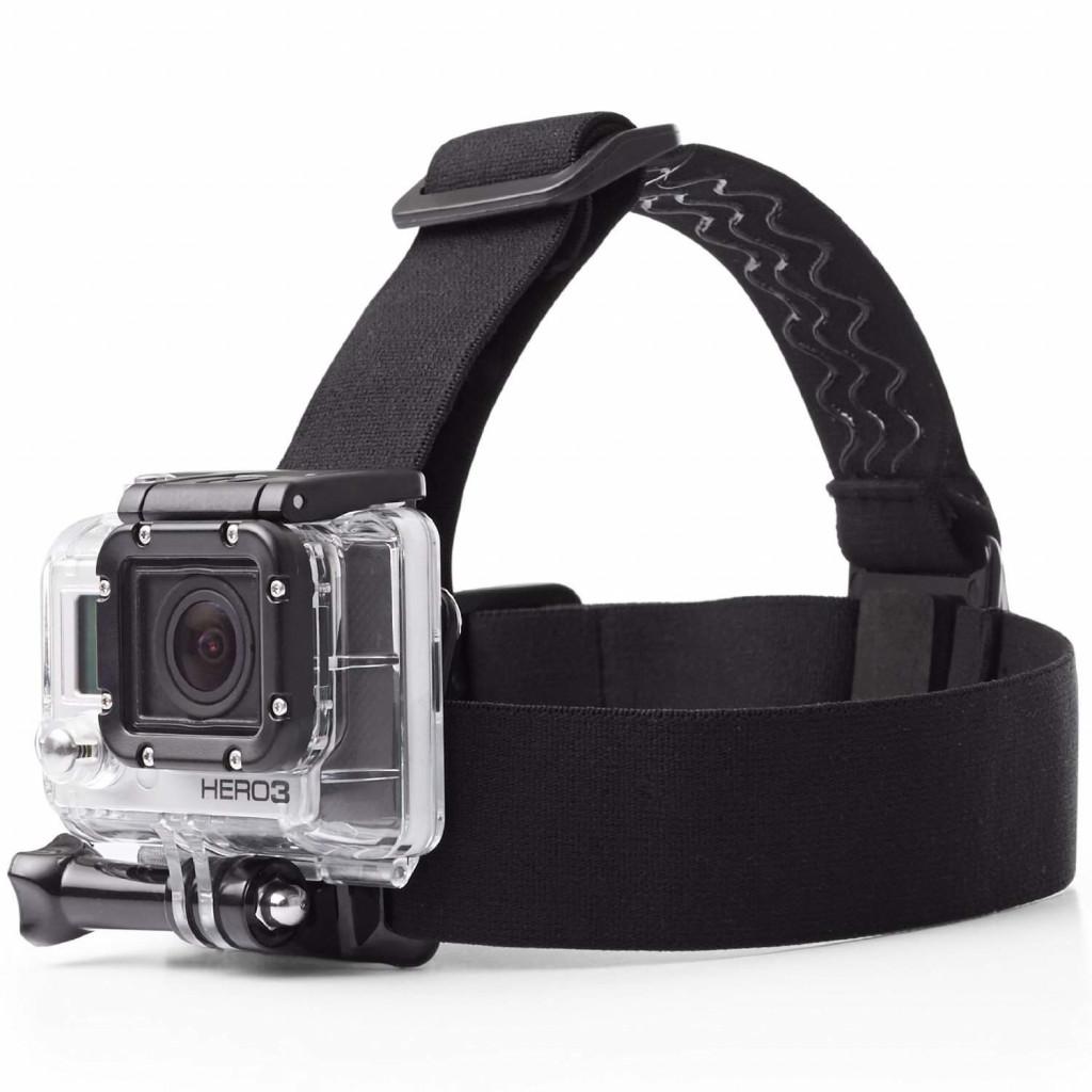 Head strap Camera Mount