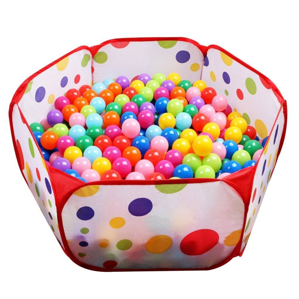 Kids Ball Pit with Zippered Storage Bag