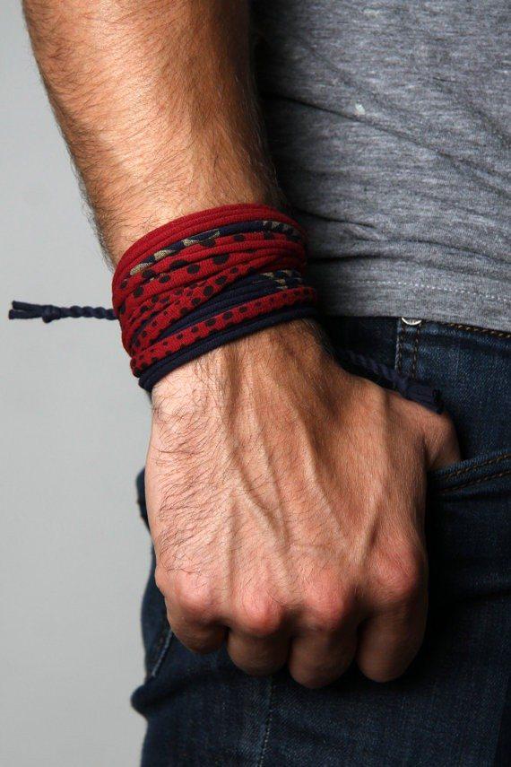 Men's Wrap Bracelet