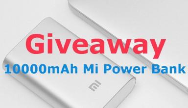 Mi Giveaway-Power bank