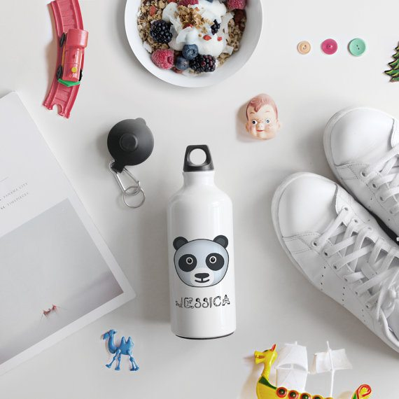 Personalized Aluminum Water Bottle