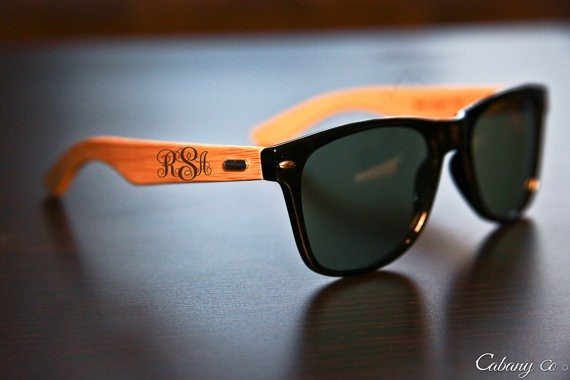 Personalized Engraved Bamboo Sunglasses