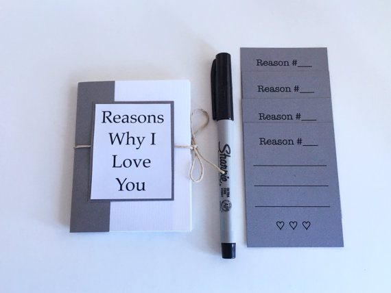 Reasons Why I Love You Book