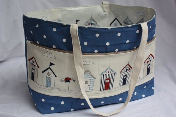 Reversible Beach Bag for the Family