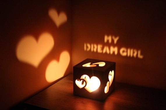 Romantic Magic Candle Holder