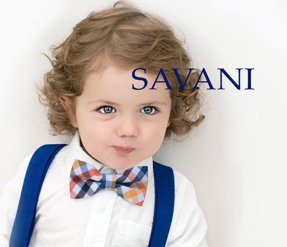 Suspenders and Bow Tie Set for Baby Boy