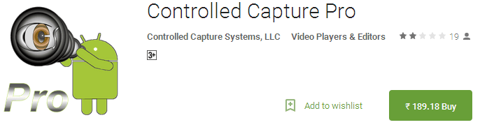 Controlled Capture Pro