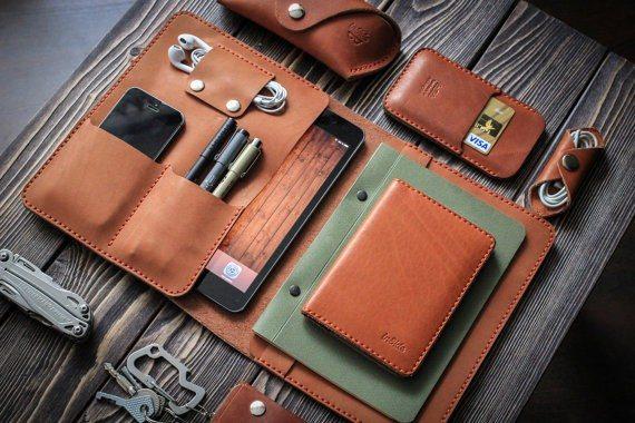 iPad Mini Leather Folio