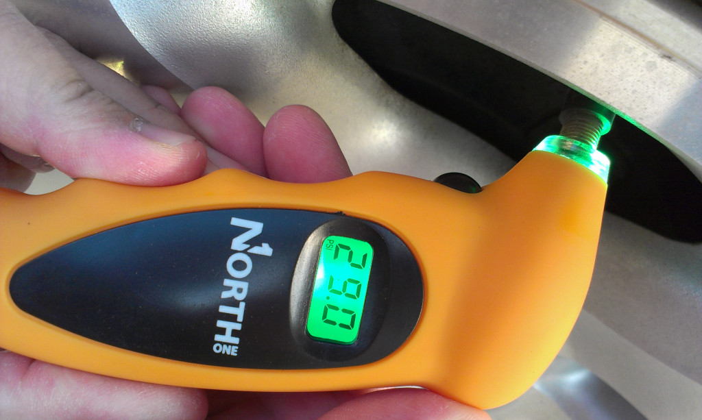 NorthONE(tm) Digital Tire Pressure Gauge