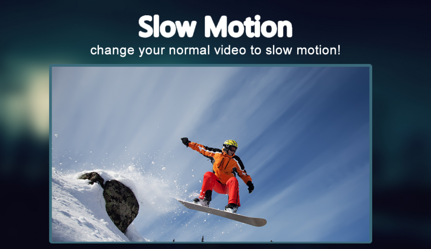 Slow Motion Video App